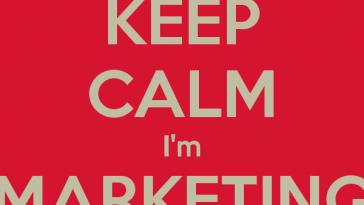 keep calm im marketing master